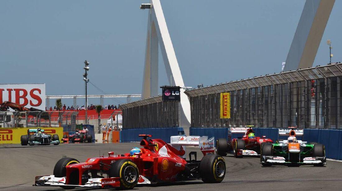 Fernando Alonso  - Formel 1 - GP Europa - 24. Juni 2012