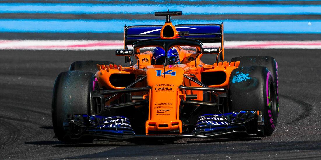 Fernando Alonso - Formel 1 - GP Frankreich 2018