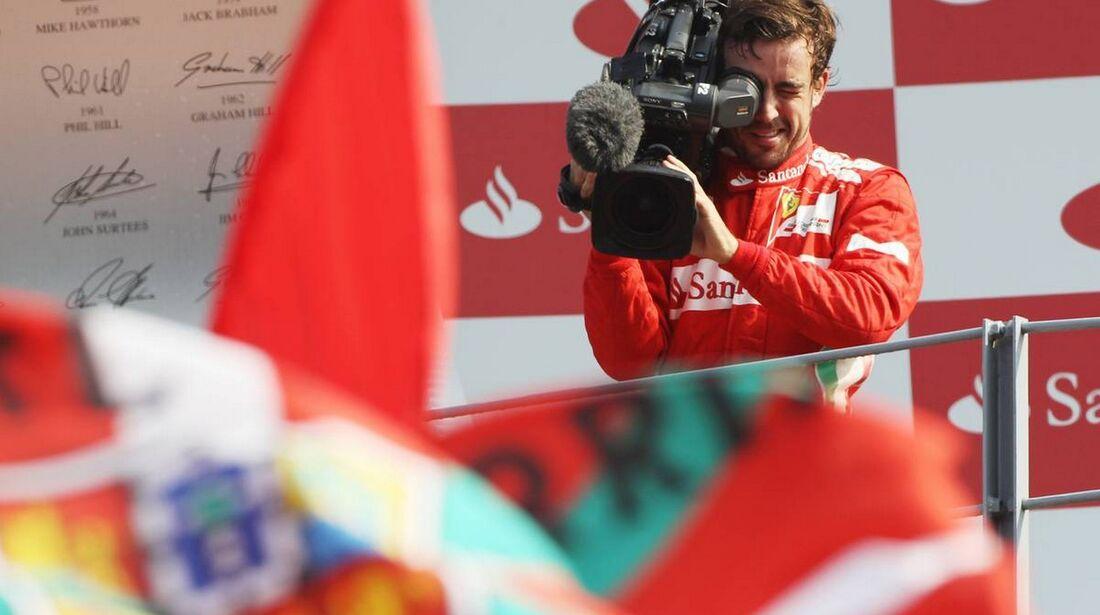 Fernando Alonso  - Formel 1 - GP Italien - 09. September 2012