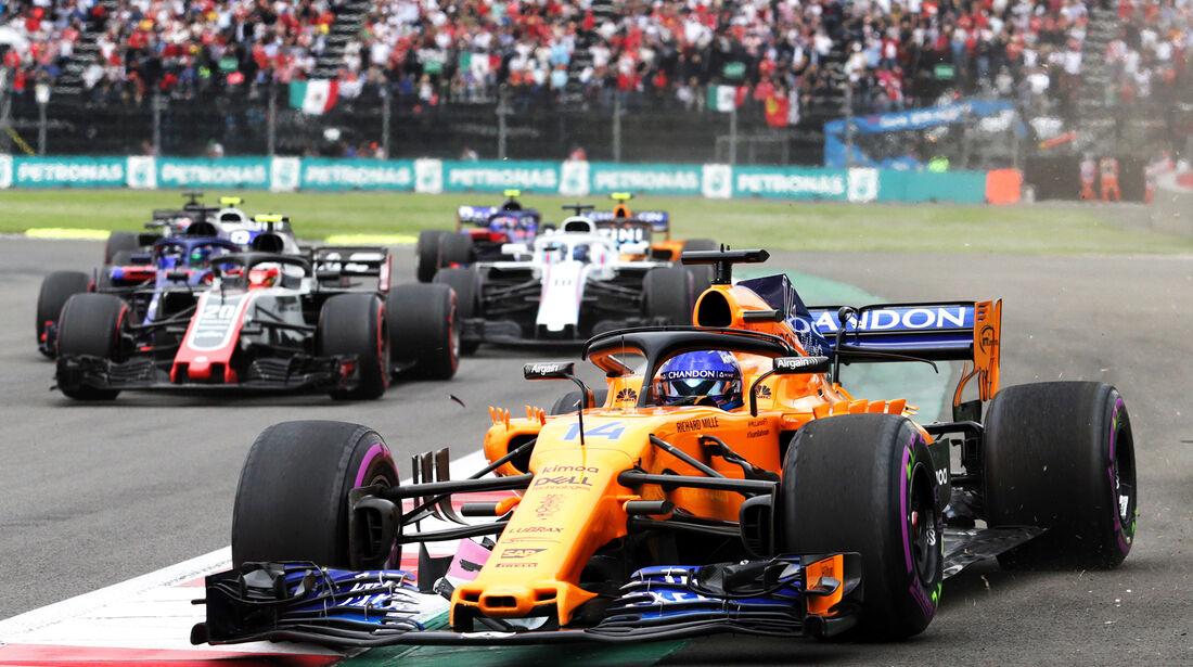 Fernando Alonso - Formel 1 - GP Mexiko 2018