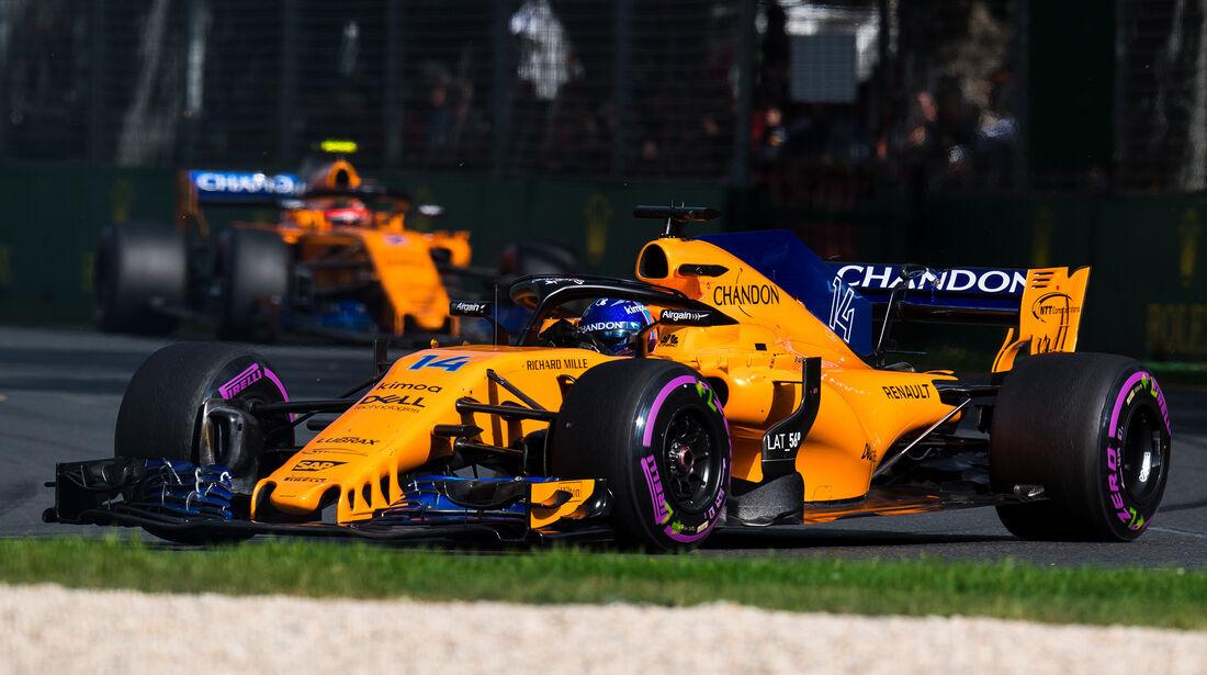 Fernando Alonso - GP Australien 2018