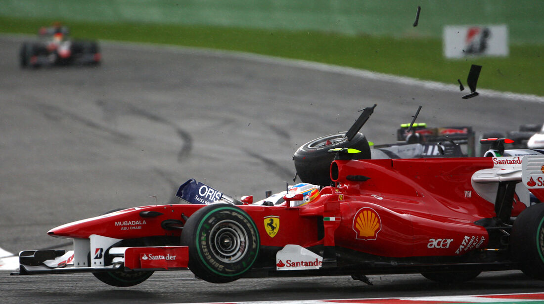 Fernando Alonso - GP Belgien 2010