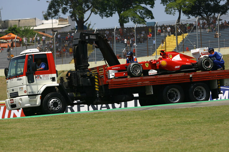 Fernando Alonso - GP Brasilien - 25. November 2011