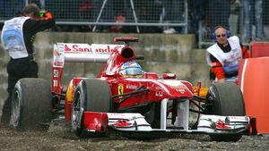 Fernando Alonso GP England 2011