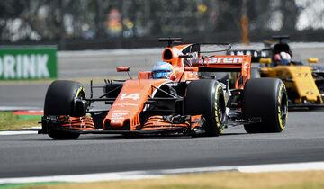 Fernando Alonso - GP England 2017