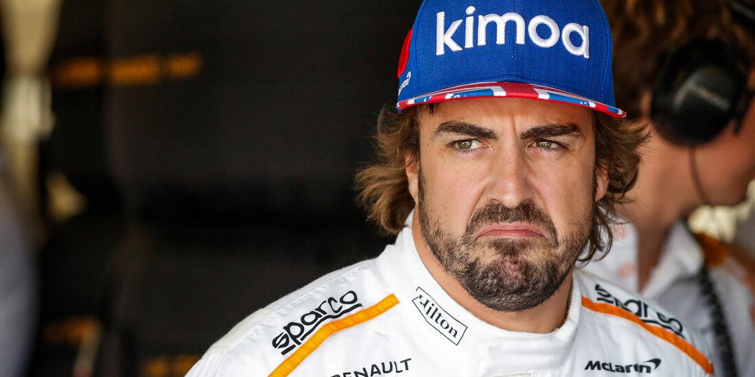 Fernando Alonso - GP England 2018