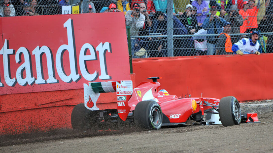 Fernando Alonso - GP England - Qualifying - 9. Juli 2011
