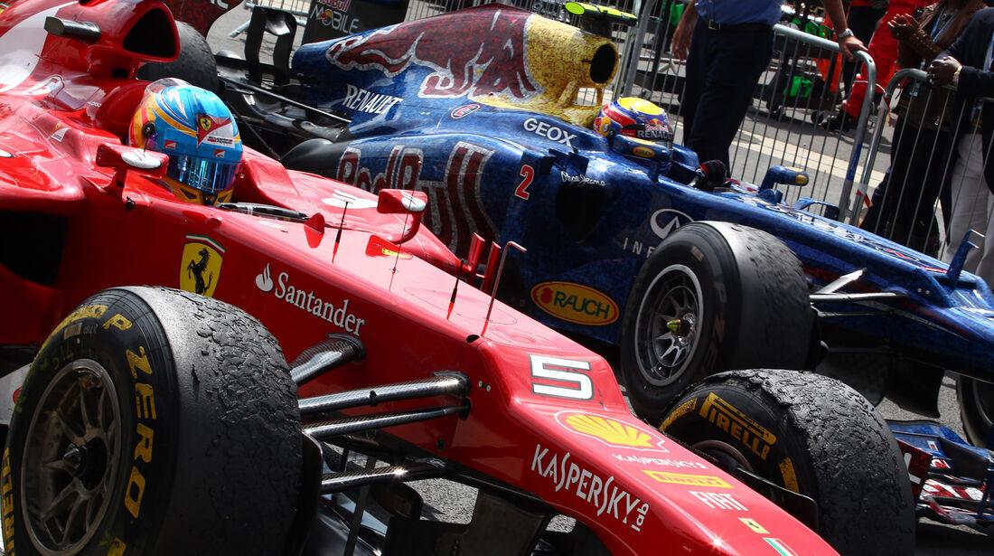 Fernando Alonso GP England Silverstone 2012