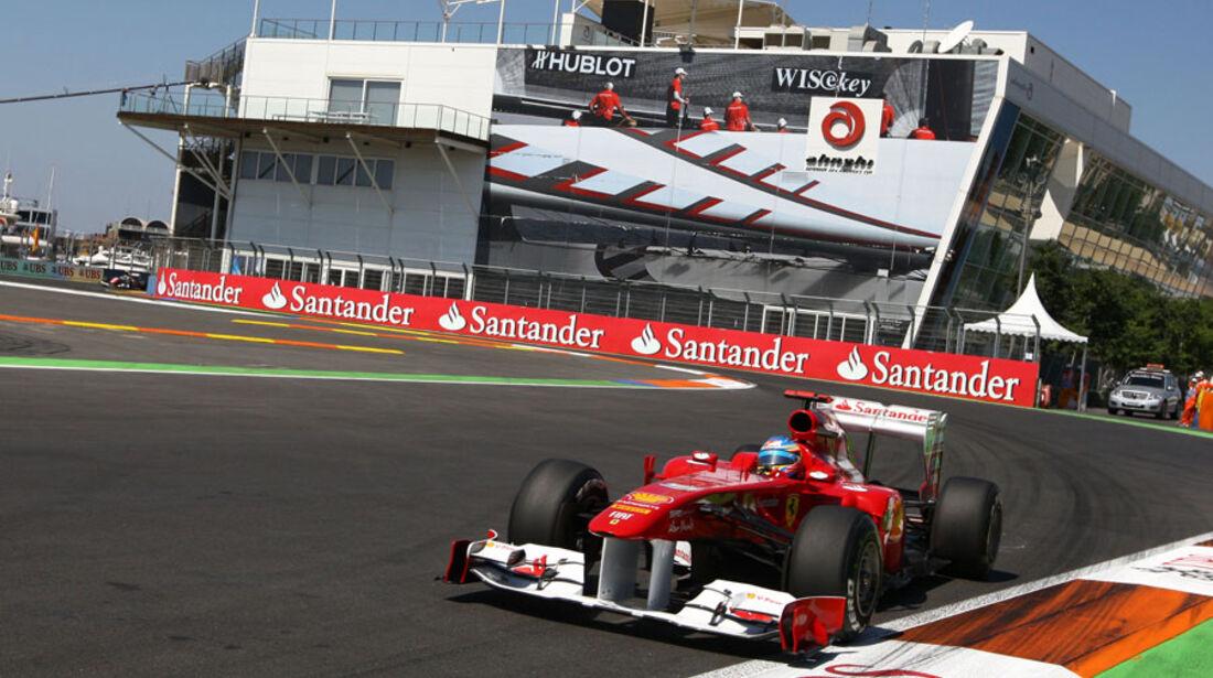 Fernando Alonso - GP Europa - Qualifying - 25. Juni 2011