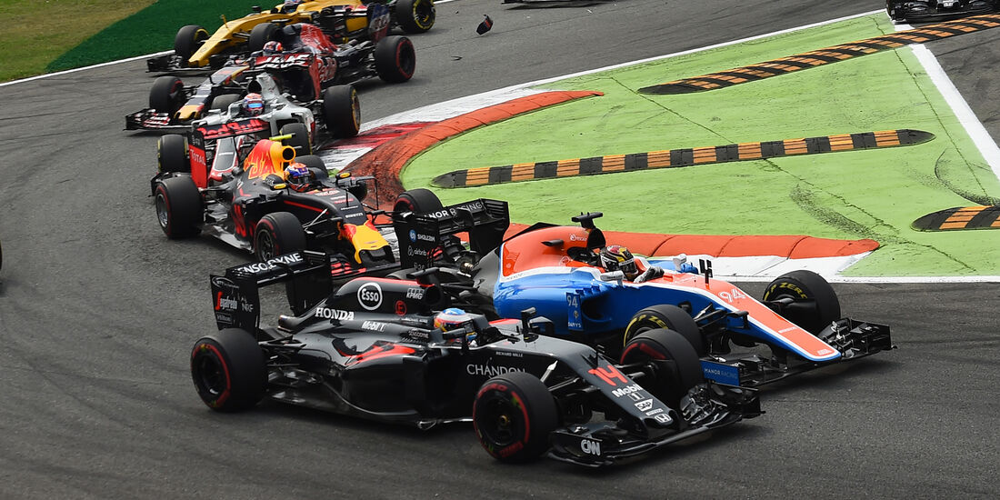 Fernando Alonso - GP Italien 2016