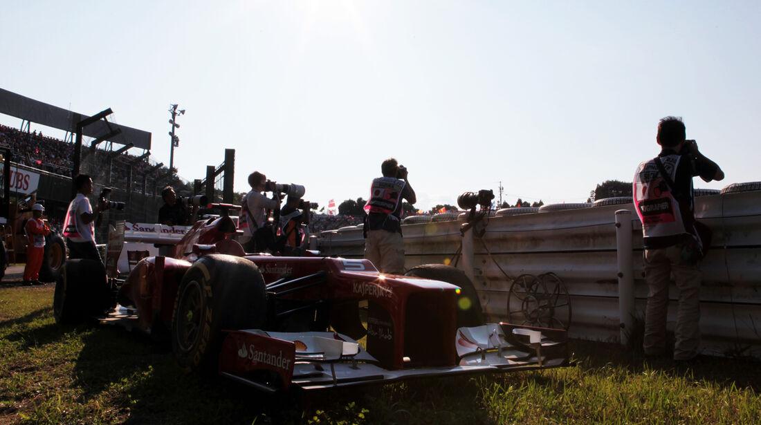 Fernando Alonso GP Japan 2012