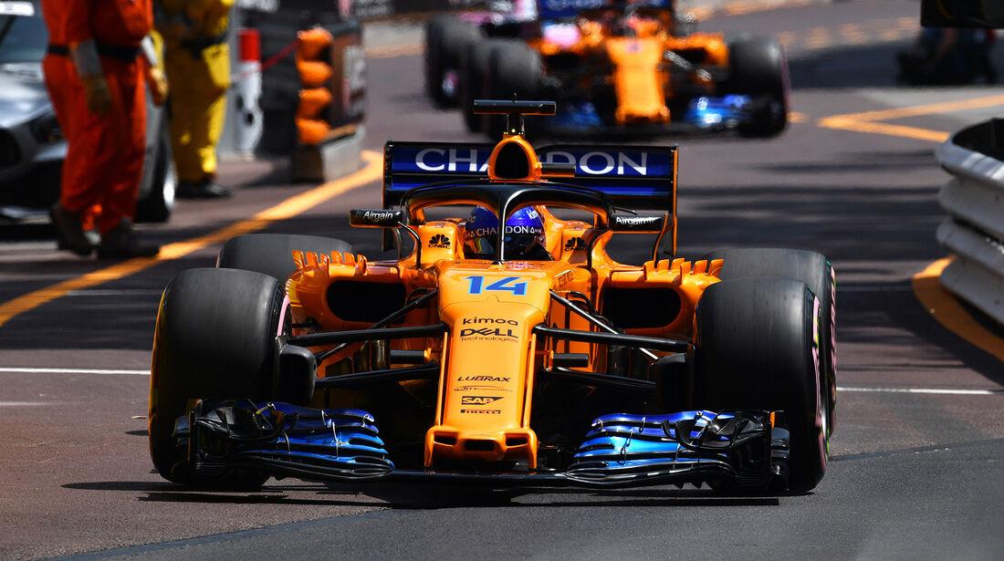 Fernando Alonso - GP Monaco 2018