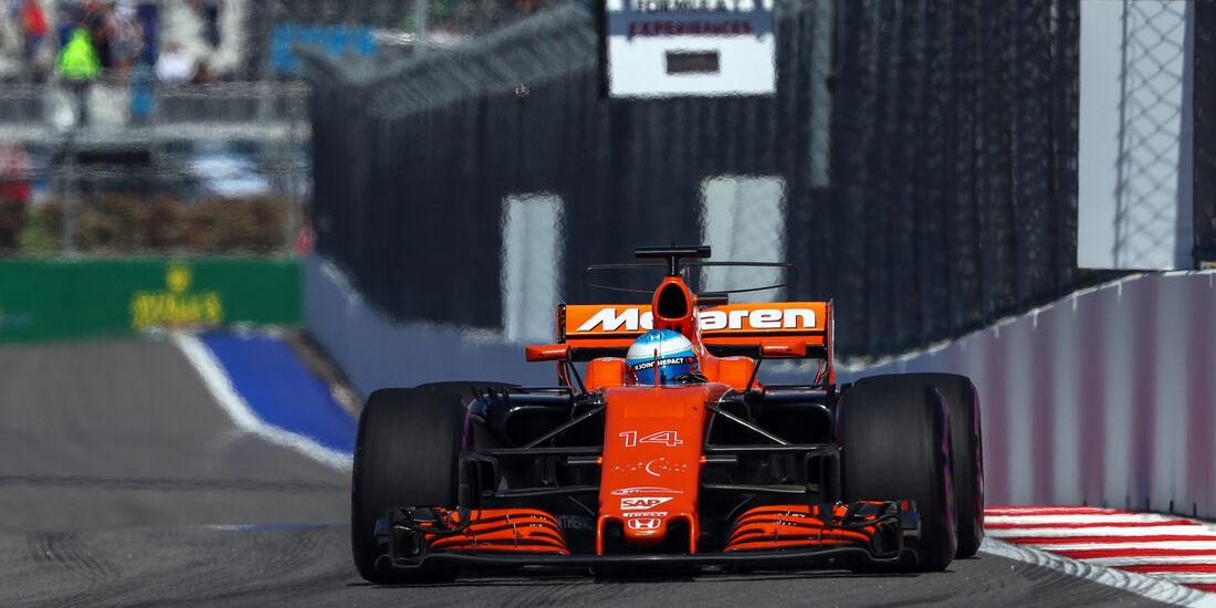 Fernando Alonso - GP Russland 2017