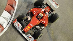 Fernando Alonso GP Singapur 2011