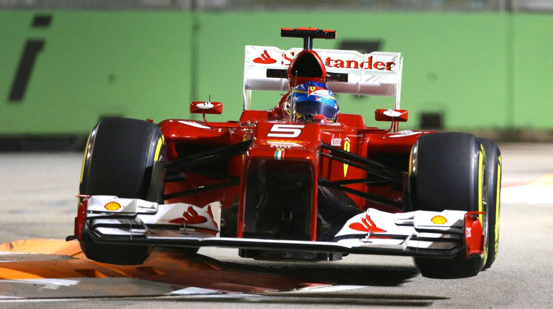 Fernando Alonso GP Singapur 2012