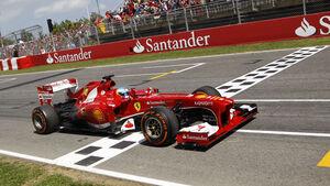 Fernando Alonso GP Spanien 2013