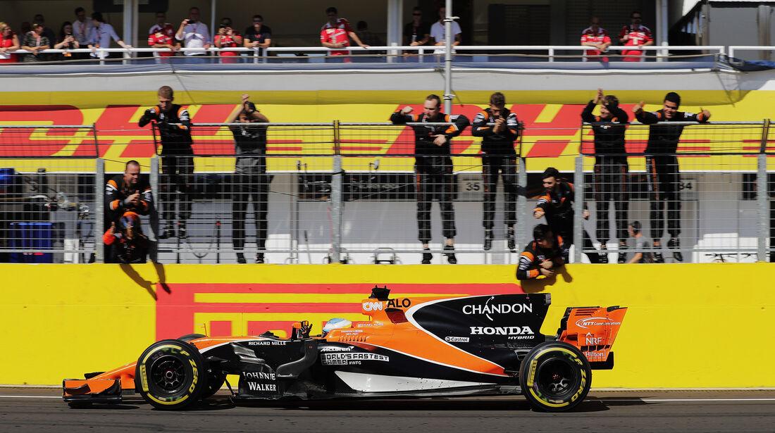 Fernando Alonso - GP Ungarn 2017