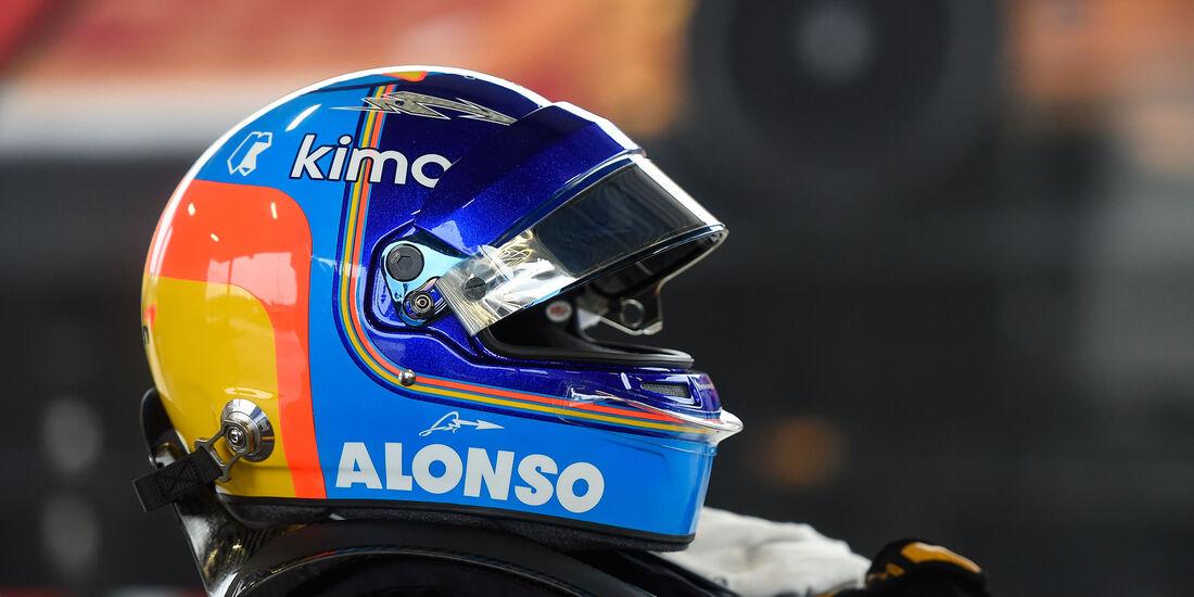 Fernando Alonso - IndyCar-Test 2018 - Barber Motorsports Park