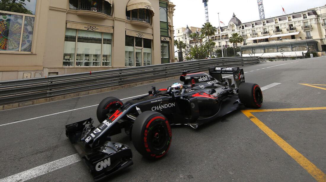 Fernando Alonso - McLaren - Formel 1 - GP Monaco - 26. Mai 2016