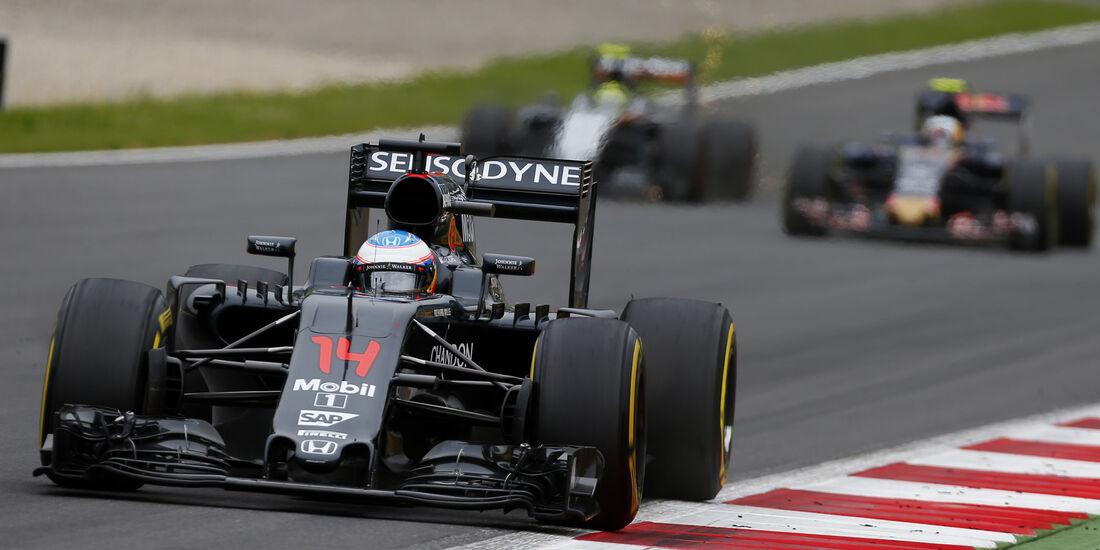 Fernando Alonso - McLaren - Formel 1 - GP Österreich - 3. Juli 2016