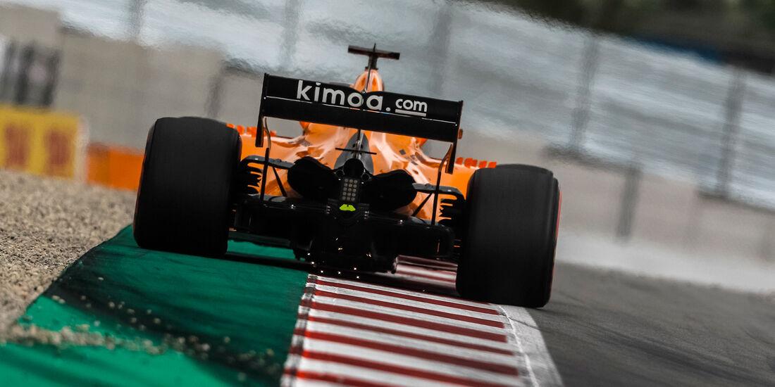 Fernando Alonso - McLaren - Formel 1 - GP Spanien - Barcelona - 12. Mai 2018
