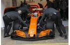 Fernando Alonso - McLaren - Formel 1 - Test - Barcelona - 8. März 2017
