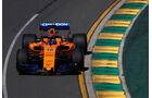 Fernando Alonso - McLaren - GP Australien 2018 - Melbourne - Albert Park - Freitag - 23.3.2018