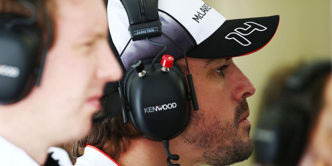 Fernando Alonso - McLaren - GP Bahrain - Formel 1 - 1. April 2016