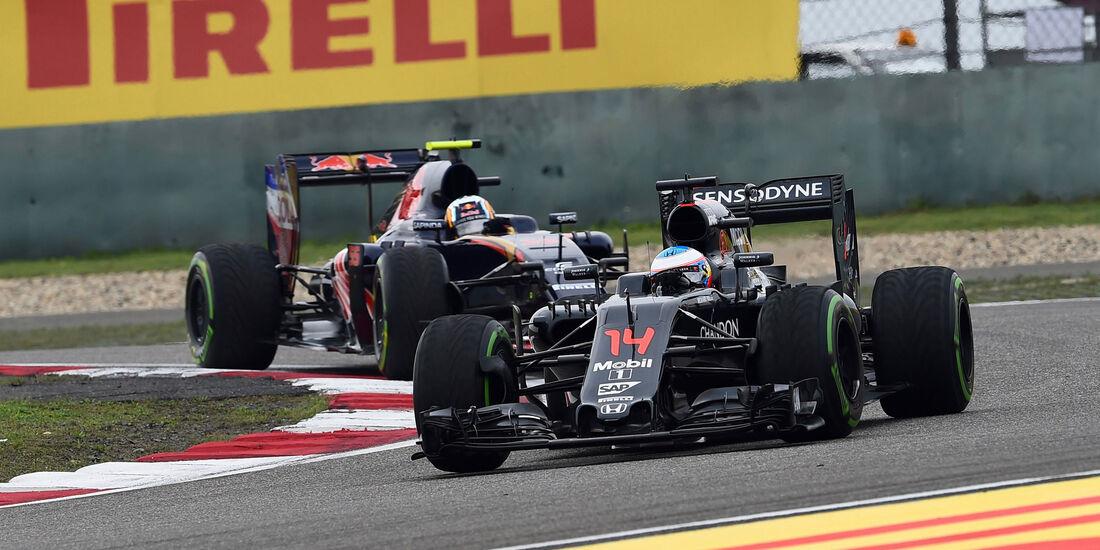 Fernando Alonso - McLaren - GP China 2016 - Shanghai - Qualifying - 16.4.2016