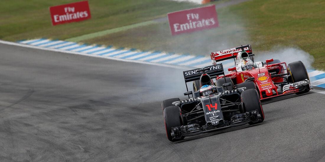 Fernando Alonso - McLaren - GP Deutschland 2016 - Hockenheim