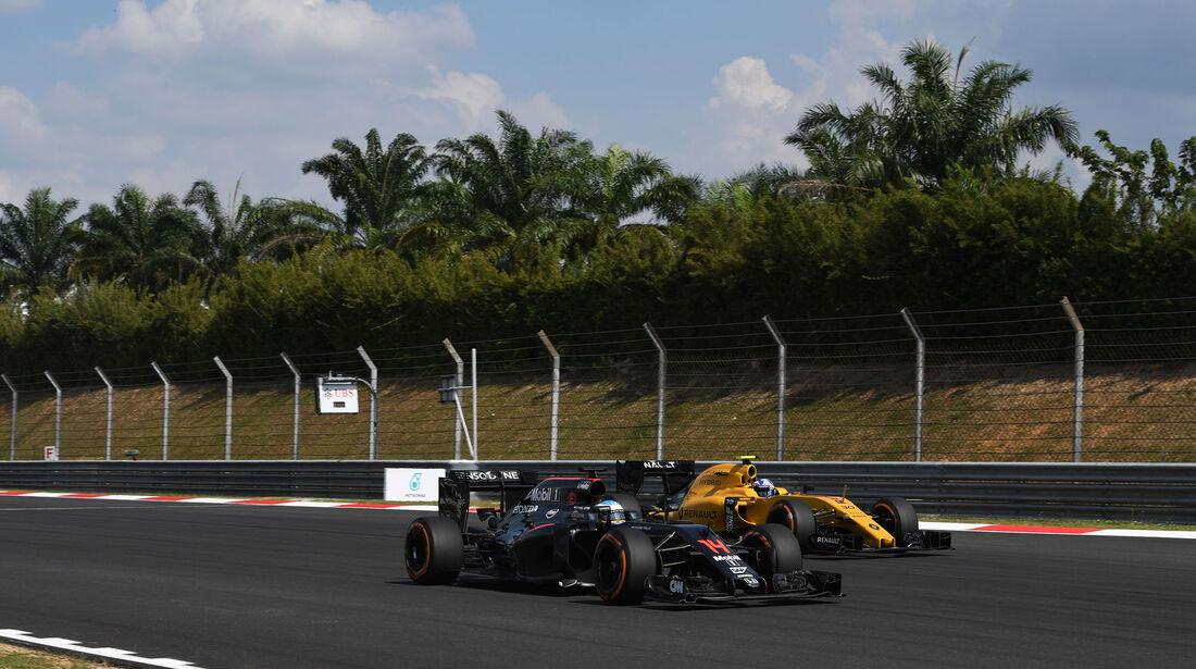 Fernando Alonso - McLaren - GP Malaysia 2016 - Sepang