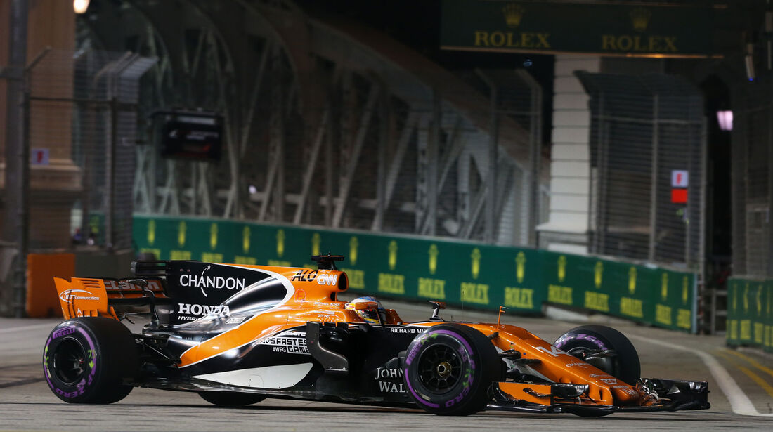 Fernando Alonso - McLaren-Honda - GP Singapur - Qualifying