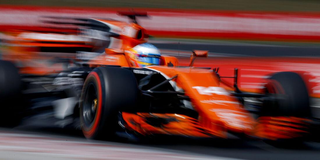 Fernando Alonso - McLaren-Honda - GP Ungarn - Budapest - Formel 1 - Freitag - 28.7.2017