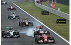 Fernando Alonso - Nico Rosberg - Formel 1 - GP Ungarn - 27. Juli 2014
