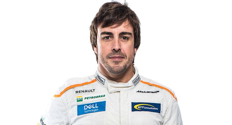 Fernando Alonso - Porträt 2018