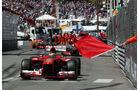Fernando Alonso Rennabbruch - Formel 1 - GP Monaco - 26. Mai 2013