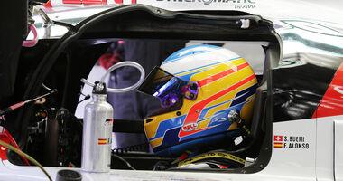 Fernando Alonso - Toyota WEC - Test - Bahrain - 2017