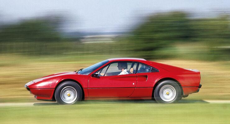 Ferrari 308 GTB, Seitenansicht