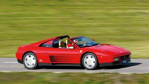 Ferrari 348 TB, Seitenansicht
