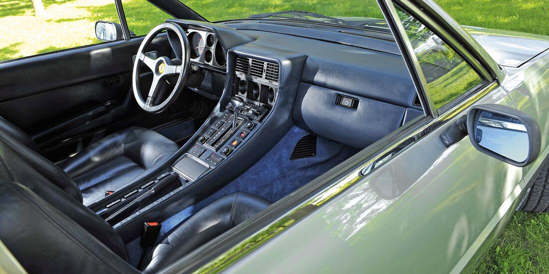Ferrari 412, Cockpit, Lenkrad