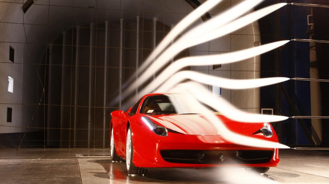 Ferrari 458 Italia Windkanal