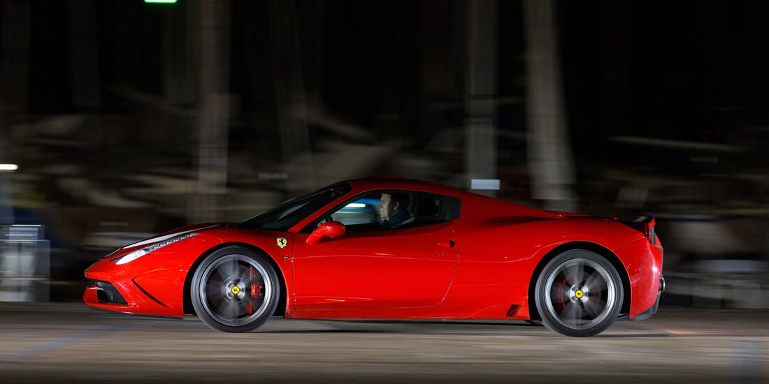 Ferrari 458 Speciale A, Seitenansicht