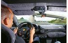 Ferrari 458 Speciale, Cockpit, Fahrersicht