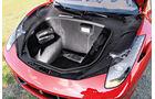 Ferrari 458 Spider, Kofferraum, Laderaum