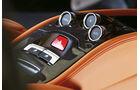 Ferrari 458 Spider, Mittelkonsole, Bedienelemente