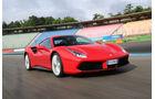 Ferrari 488 GTB, Frontansicht
