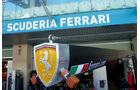 Ferrari-Box - GP Abu Dhabi - 10. November 2011