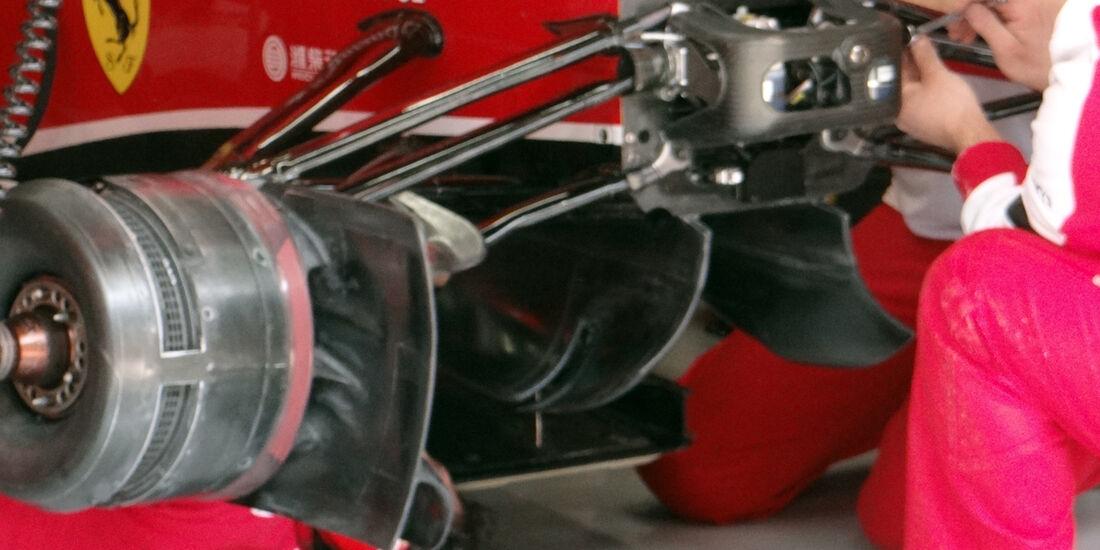 Ferrari Bremsbelüftung - Formel 1 - GP China - 12. April 2013