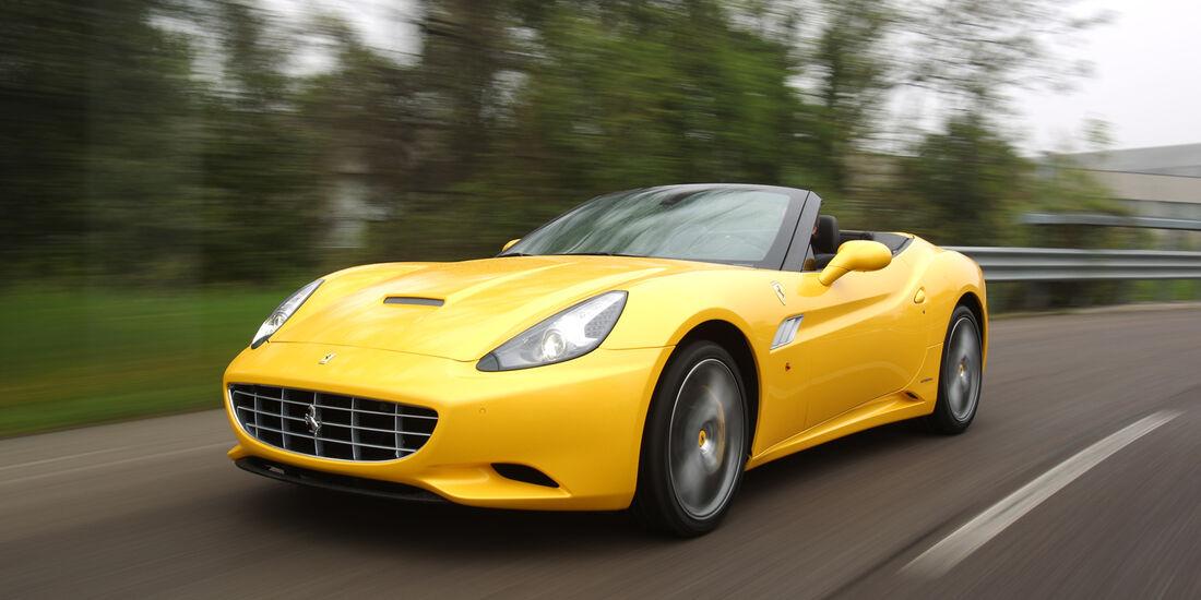 Ferrari California, Frontansicht