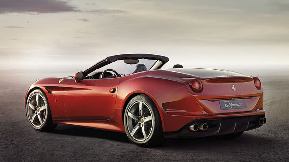 Ferrari California T Auf Dem Genfer Autosalon Mit Biturbo V8 Ab